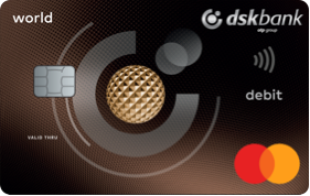 world debit card dskbank